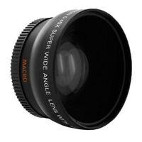 62mm 0.45x Wide Angle + Macro Conversion Lens For Nikon D7100 D3200 D5100 D5200