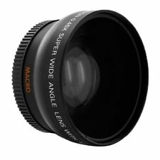 62mm 0.45x Wide Angle + Macro Conversion Lens For Nikon D7100 D3200 D5100 D5200
