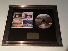 PERSONALLY SIGNED/AUTOGRAPHED LEWIS WATSON -THE WILD FRAMED CD PRESENTATION.RARE