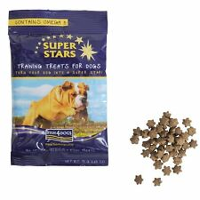 Fish4 Dogs Super Stars Training Treats 75g Small Fish Salmon Oil All Natural New