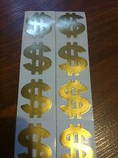 LOT OF 50 TANNING BED STICKERS  TATTOOS  BLING DOLLAR