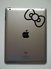 1 x Hello Kitty Bow for iPad Decal - Vinyl Sticker Flowers kids tablet laptop