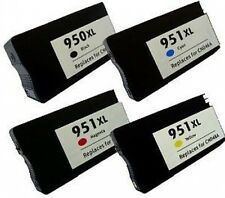 4 Chipped Ink Cartridges for HP 950XL 951XL Officejet Pro 8100e 8600 8600 Plus