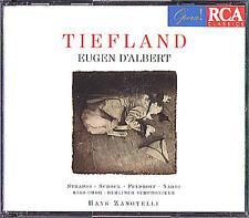 Eugen D'ALBERT: TIEFLAND Schock Strauss Krukowski Feldhof Hans Zanotelli RCA 2CD