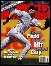 1999 Sports Illustrated Derek Jeter Yankees No Label 6/21/99 16598