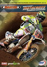 Maxxis ACU British Motocross Championship - Official review 2013 (New DVD) MX