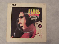 "ELVIS PRESLEY""MOODY BLUE -SHE THINKS I STILL...- Disco 45 giri, RCA France 1976"""