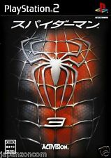 Used PS2 Spider-Man 3 SONY PLAYSTATION 2 JAPAN
