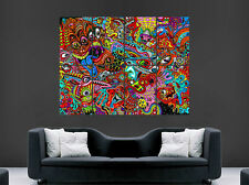 TRIPPY POSTER PSYCHEDELIC PICTURE GIANT WALL ART HUGE GIANT PRINT IMAGE LARGE