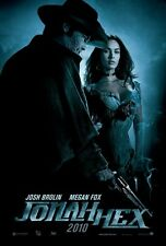 POSTER JONAH HEX JOSH BROLIN MEGAN FOX SEXY HOT SEX DVD LOCANDINA WESTERN 1