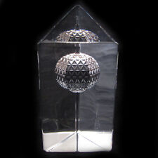 WATERFORD CRYSTAL TIMES SQUARE 2000 PAPERWEIGHT BALL DROP MILLENNIUM PRISM