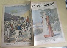 Le petit journal 1896 315 Reine de Hollande + Italiens en Abyssinie