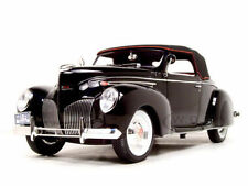 1:18 Signature - 1939 Lincoln Zeyphr - black