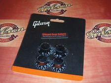 Gibson Les Paul Top Hat Knobs Set Black Guitar Parts SG V Firebird ES Custom HP