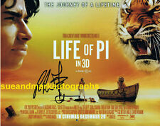 Ang Lee Director Oscar Winner Life Of Pi Poster Image Autograph UACC  RD 96