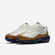2016 Nike Air Max 95 Premium PRM SZ 8.5 Ale Brown Navy Sail Pearl Lab 538416-200