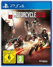 PS4 Motorcycle Club Race Motorbike Game NEW