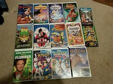 LOT 14 WALT DISNEY FILM CLASSIC AND RECENT VHS VIDEOS, LION KING, CINDERELLA +