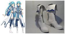 Sword Art Online YuuKi Asuna ALO Asuna Cosplay Costume Boots Boot Shoes Shoe UK