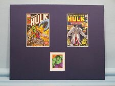 Marvel Comics Hero - The Incredible Hulk honored by his own Stamp