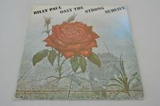 Billy paul-only the strong survive-soul 70er-album disque vinyle LP