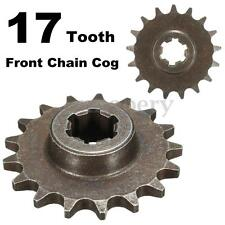 47cc 49cc T8F 8mm Mini Moto Dirt Bike 17 Tooth Front Pinion Sprocket Chain Cog