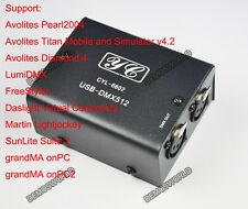 Hot Sale USB TO DMX512 Interface Converter Led Light  Controller For 10 software