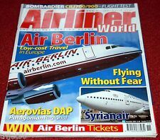 Airliner World 2006 November Syrianair,Air Berlin
