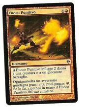 Punishing Fire Fuoco Punitivo  FOIL card Magic the Gathering Zendikar