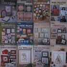 Leisure Arts  Counted Cross-Stitch Pattern Book Leaflet  Assorted Designs
