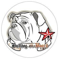 ENGLISCHE BULLDOGGE english bulldog on board Hunde Sticker Aufkleber - Molosser