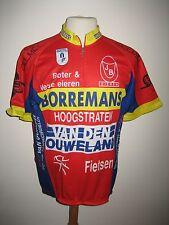 Borremans Hoogstraten Belgium jersey shirt cycling wielershirt maillot size XL
