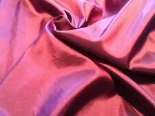 Two-tone / single-tone Taffeta faux silk dress fabric; 14 colours,