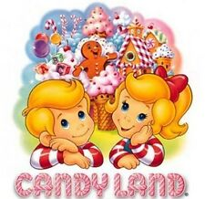 ***GREAT CANDYLAND***FABRIC/T-SHIRT IRON ON TRANSFER