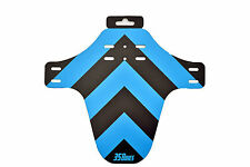 35 Bikes Guard - MTB Mud Guard Front Fender Fork Protector Enduro DH BLUE/BLACK