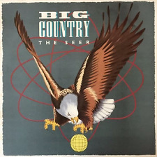 BIG COUNTRY - The Seer (LP) (EX/G-VG)