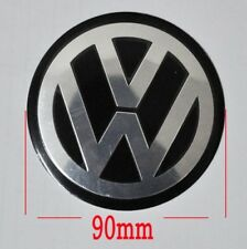 4 VW Wheel Center Hub cap Emblem Decal Jetta Golf MK4 Bettle Passat Sticker 90mm