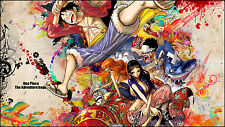 "One piece Manga Strong world japan anime Art Silk Wall huge Poster 12x18"" OP17"