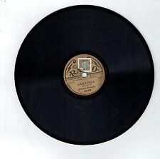 78T 20 cm Orchestre MORTARELLI Disque GABRIELA - TANIETA - Edison Bell RADIO 855