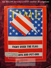 TIME Magazine July 6 1970 7/6/70 FIGHT over the FLAG Patriots and Put-Ons