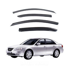 Smoke Window Vent Visors Rain Guards for 2005 - 2009 Hyundai Sonata NF
