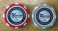*BRAND NEW* Callaway Big Bertha ball markers - chip style -two (02) in each pack