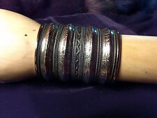 Siliver Large Cuff Bracelet from India