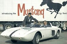 1962 Ford Mustang Concept Documentary Film on DVD