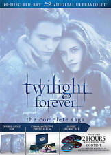 Twilight Forever: The Complete Saga Box Set [Blu-ray] DVD, Taylor Lautner, Rober