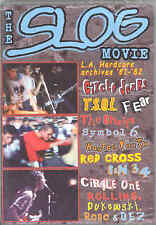 The Slog Movie DVD David Markey Black Flag Fear Circle Jerks T.S.O.L. Red Cross