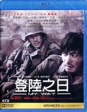 "Jang Dong Gun ""My Way"" Odagiri Joe Korea 2011 Action Region A Blu-Ray"