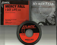 MERCY FALL I got Life 2006 MINT PROMO Radio DJ CD Single USA PRCD302129