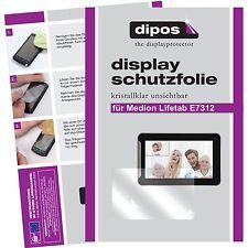 2x Medion Lifetab E7312 Schutzfolie klar Displayschutzfolie Folie dipos