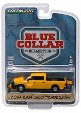 Greenlight 2014 2015 Dodge Ram 1500 Tradesman Construction Yellow 1:64 35040-D